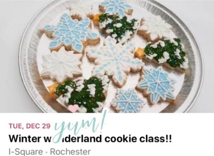 Winter Wonderland Cookie Class