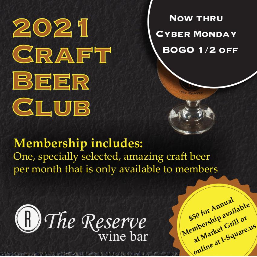 2021 Craft Beer Club