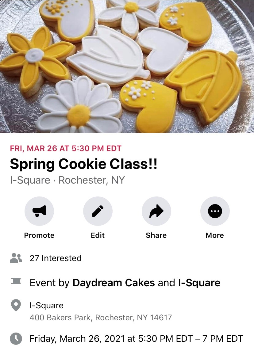 Spring Cookie Class